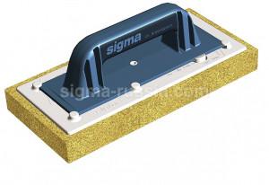 Шпатель 48L7 Sigma с губкой высокой абсорбции без насечек
